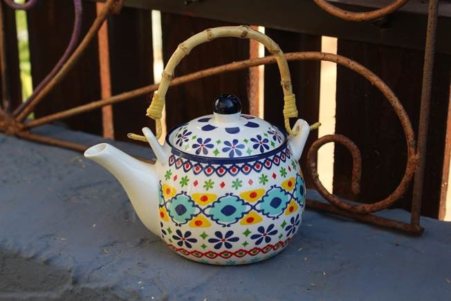 price of Ceramic Moroccan Tea Pot   on ShopHub | ecommerce, price check, start a business, sell online