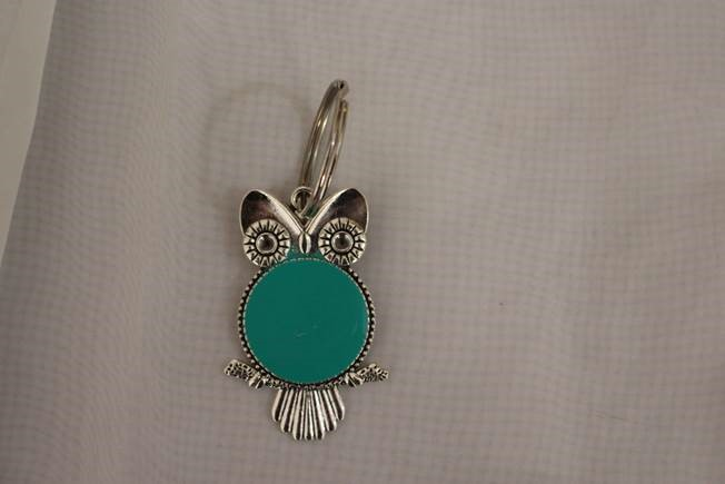 price of Key ring owl shape Teal color on ShopHub | ecommerce, price check, start a business, sell online
