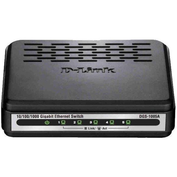 D-Link DGS-1005A 5-Port Gigabit Unmanaged Switch