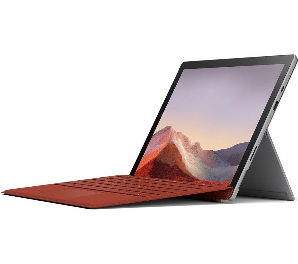 price of Microsoft Surface Pro 7 i7 16GB 256GB Platinum on ShopHub | ecommerce, price check, start a business, sell online