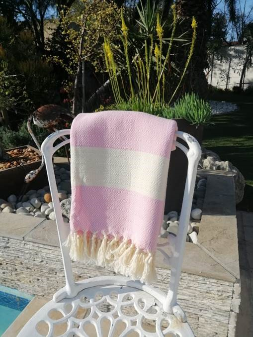 price of Diamante Pink Cotton Turkish Towel   on ShopHub | ecommerce, price check, start a business, sell online
