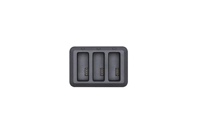 Tello Battery Charging Hub; Accommodate up to three Tello Flight Batteries at the same time.