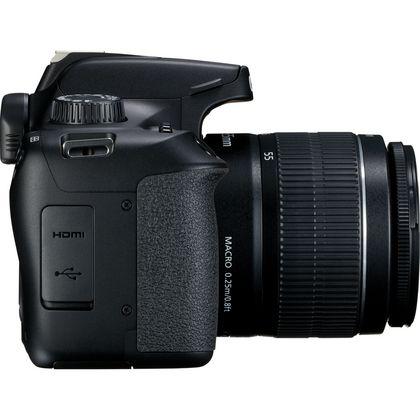 CANON 4000D STARTER KIT - EOS 4000D, EF-S18-55 F/3.5-5.6 III, Canon SB130 Bag, 16Gb SD Card