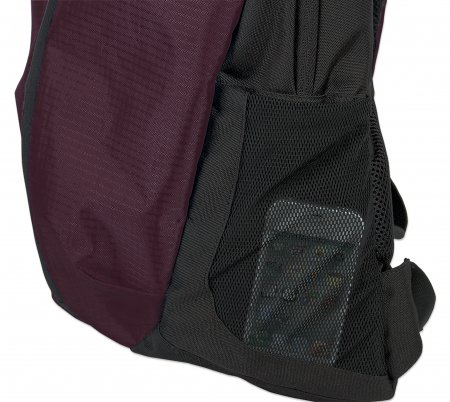 """Manhattan 15.6"""" Airpack Notebook Bag Colour:Black  and Plum, Retail Box, Limited Lifetime warranty"""